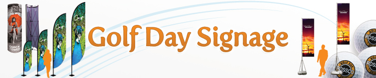 Golf Day Signage