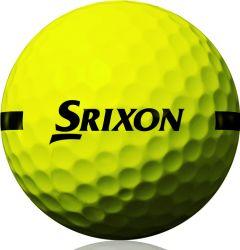 Srixon one piece range balls - yellow