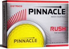 Pinnacle Rush Yellow golf balls | Best4Balls