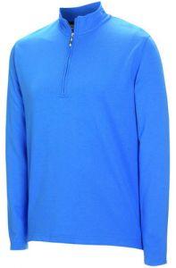 Ashworth Half Zip Layering Piece - Blue (Medium)