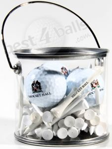 Wilson Ultra 3 Ball Gift Tin with TeesWooden Tees Gift Tin White | Best4Balls