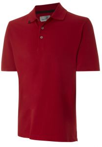 Ashworth Solid Polo Golf Shirt - Red | Best4Balls