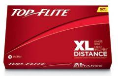 XL Yellow Top Flite Logo Printed Golf Balls | Best4Balls