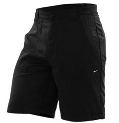 Nike Flat Front Groove Golf Shorts - Black | Best4Balls