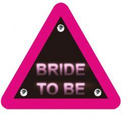 Bride to Be Hazard Sign Personalised Hen Do Golf Ball | Best4Balls