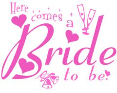 Here Comes a Bride to Be Hen Do Printed Golf Ball | Best4Balls