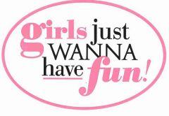 Girls just wanna have fun Hen Do personalised Golf Ball | Best4Balls