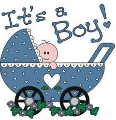 Baby Buggy It's a Boy Personalised Golf Balls | Best4Balls
