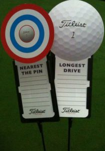 Longest Drive & Nearest the Pin Golf Signs | Best4Balls