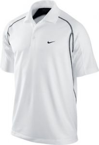 Nike Golf Contrast Stitch Polo Shirt - White