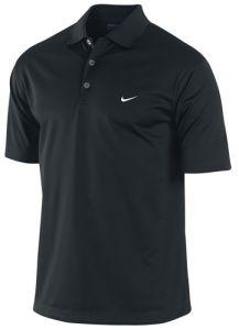 Nike Dri Fit UV Stretch Tech Solid Polo Shirt - Black