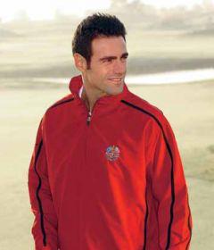Glenmuir Logo Long Sleeve Golf Wind Shirt
