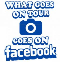 What Goes on Tour Goes on Facebook - Funny Stag Do Golf Balls | Best4Balls
