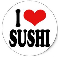 I Heart Sushi - Funny Stag Do Personalised Golf Balls | Best4Balls