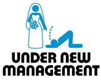 Under New Management - Funny Stag Do Golf Balls | Best4Balls