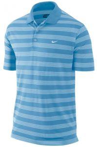 Nike Golf Tech Stripe Polo Shirt L.C. - Light Blue