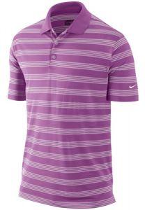Nike Golf Tech Stripe Polo Shirt L.C. - Violet