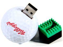 Logo Printed 4GB USB Novelty Golf Ball Flashdrive | Best4Balls