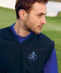 Glenmuir Logo Golf Wind Vest