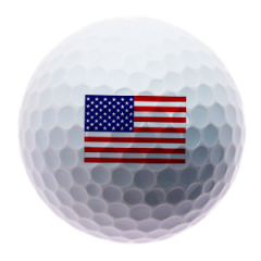 American Flag Golf Ball |  Best4Balls