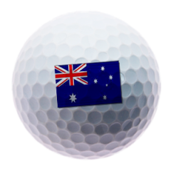 Australian Flag Golf Ball | Best4Balls