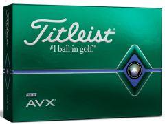 Personalised Titleist AVX golf balls | Best4Balls