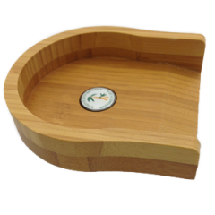 Personalised Wooden Putting Cup With Ball Marker | Best4Balls