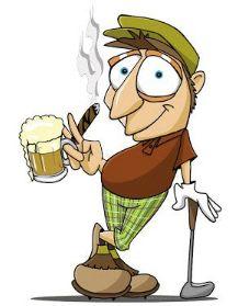 Beer & Cigar Golf Balls | Best4Balls
