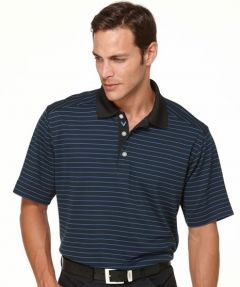 Callaway Polo Shirt - Anthracite Stripe