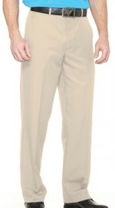 Callaway Flat Front Twill Pant - Silver Lining | Best4Balls