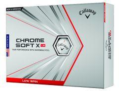 New Callaway Chrome Soft X LS personalised golf balls | Best4Balls