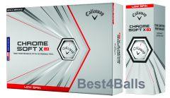 Printed Callaway Chrome Soft X LS golf balls | Best4Balls