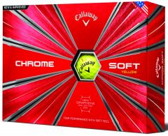 Chrome Soft Golf Ball from Callaway  | Best4Balls