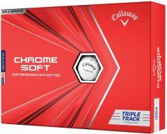 Callaway Chrome Soft Triple Track Golf Ball  | Best4Balls