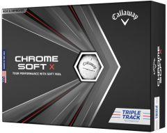 Callaway Chrome Softx Triple Track Golf Ball  | Best4Balls