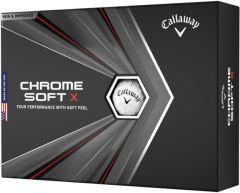 Callaway Chrome Soft X golf balls at best4balls.com