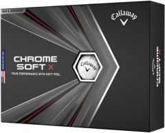 Personalised Chrome Soft X personalised golf balls | Best4Balls