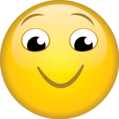 Chuffed Face emoji golf balls | Best4Balls