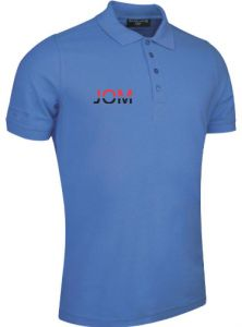 Glenmuir Cotton logo golf shirt