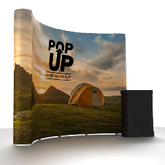 Curved pop up display | Best4balls