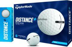 TaylorMade Distance Plus logo printed golf balls | Best4Balls