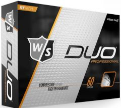 Wilson Duo Professional Logo Printed Golf Balls | Best4Balls