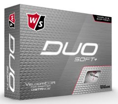 Wilson Duo Soft + personalised golf balls | Best4Balls