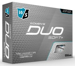 Wilson Women's Duo Soft + personalised golf balls | Best4Balls