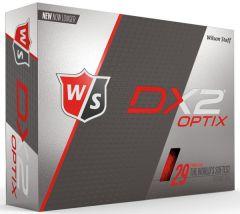 Wilson Golf Balls DX2 Soft Optix Red | Best4Balls
