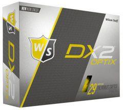 Personalised Wilson DX2 Optix Yellow | Best4Balls