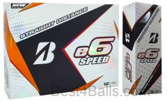 NEW Bridgestone E6 Speed Logo Printed Balls | Best4Balls