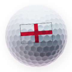 English Flag Printed Golf Balls | Best4Balls