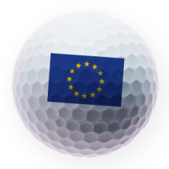 EU Flag Printed Golf Balls | Best4Balls