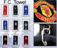 Football Club Tri Fold Golf Towel | Best4Balls